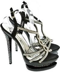 73a73aafa393 ACTONIC Dámske čierne sandále BARBA 36