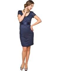 TORELLE Těhotenské luxusní krajkové šaty Lace krátký rukáv 11b0510ad0