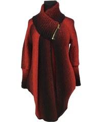 Móda Taleti Těhotenský kabátek Reni červený 0a842eff5b