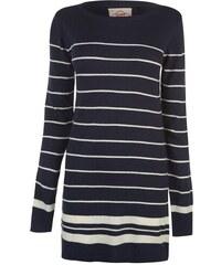 Dámské šaty svetr Lee Cooper Stripe Navy 9c06480d0fe