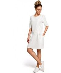 Moe Denní šaty Moe 127557 bílé - bílá 4b6e15a61d