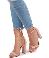 9676a97be5f1 Ideal Béžové sandály Jess