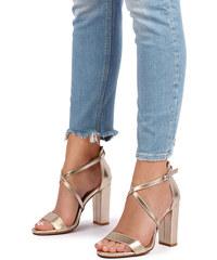 842dff16011c Ideal Zlaté sandále Katie
