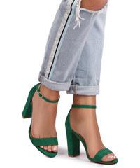 4cea68164a Ideal Zelené sandále Carly