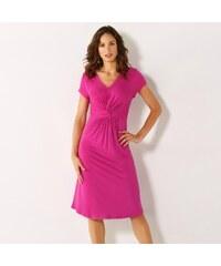 Blancheporte Splývavé úpletové šaty indická růžová 5a016ff189d