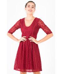 b20c62dffb5 Smash CADENCE Dámské šaty tmavě červené
