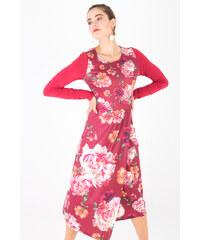 f155d91b0bb Smash PIPER Dámské šaty tmavě červené