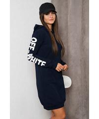 ee1bdcd81449 Kesi Teplákové šaty off-white modré