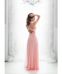EVA   LOLA Plesové Šaty MAEVA růžové 5119304319