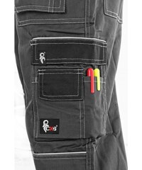 8718cd2257c5 Canis Zimné pracovné nohavice s náprsenkou ORION KRYŠTOF predĺžené