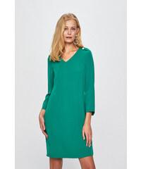 MISSGUIDED Elegantné letné šaty tmavo zelenej farby - Glami.sk 79ae6b07fc