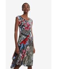 f038248a956 Desigual barevné šaty Vest Karuka