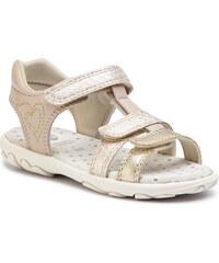 Sandále GEOX - J S.Cuore B J9290B 0QDBC C0871 M Beige Gold 296cd27b18