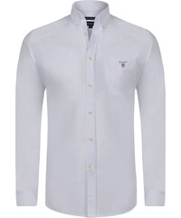 5578aa45a356 Biela luxusná košeľa od Gant