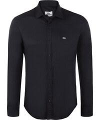 Černá elegantní košile od Lacoste 80866b2e3b