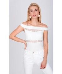 98cdbd153825 Biele Dámske oblečenie z obchodu Londonclub.sk
