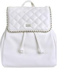 Malý dámsky mestský batoh kabelka bielo čierny - David Jones ... 3e69380372