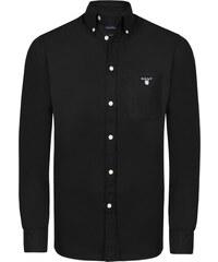 e3e659be588 Černá luxusní košile od Gant