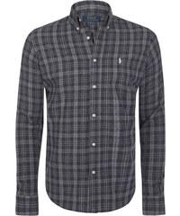 7e8e8736d7e Černo-šedá košile z prémiové bavlny od Ralph Lauren