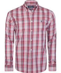 00fbf002e70c Červeno-ružová košeľa z prémiovej bavlny od Ralph Lauren