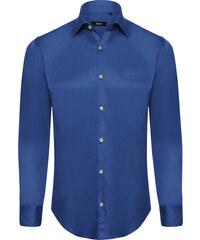 9d4839e3bfc Modrá elegantní košile od Hugo Boss