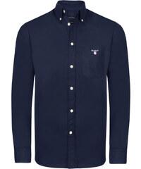 7c1669604ec Tmavě modrá luxusní košile od Gant