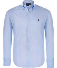 cbf0fd6a093 Světlo modro-černá prémiová košile od Ralph Lauren