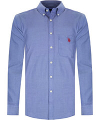 Tmavě fialová košile z prémiové bavlny od U.S. Polo ASSN. 8580d69d5f