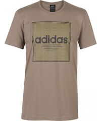 9b9ce12b58 Adidas - Box Linear Texture T Shirt Mens