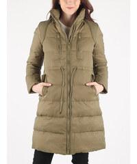Hnedé Dámske kabáty s kapucňou  fd7cb75c83f