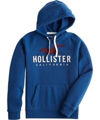 HOLLISTER Mikina modrá 3736da631bb