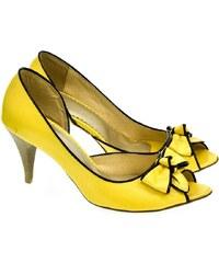 c1b8e244a748 FABELLI Dámske žlté lodičky ALLZO 36