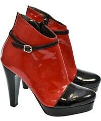 b9ad154de7 Červené Dámske čižmy a členkové topánky z obchodu John-C.sk