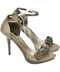 9de9c8a515a2 JOHN-C Dámske hnedé sandále INTERA 36
