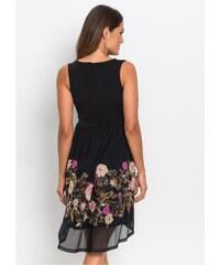 7f9779268f7a bonprix Žerzejové šaty se síťovanou sukní