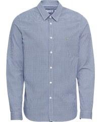 LACOSTE Košile chladná modrá   bílá 7419cea102
