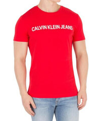 Calvin Klein pánské tričko červené 41398902a4