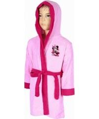 Gyerek frottír 100% pamut köntös Disney Minnie rózsaszín f80ac2094c