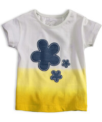 Dievčenské tričko KNOT SO BAD FIORE žlté ed7c8ef2aad