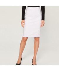 e2c39d741fa9 Mohito - Puzdrová midi sukňa - Biela