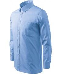 4c7c9255697a ČistéOblečenie.sk Jednofarebná Pánska košeľa s dlhým rukávom