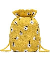 Ganni yellow Siltstone floral bead embellished bracelet bag 9deaf71a9b
