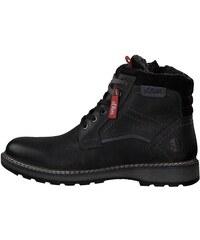 Oliver Pánska členková obuv 1253560 černá 229a6dcd479