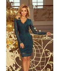 Luxusní dámské krajkové šaty Olivia Green NUMOCO 170-3-S 84c7e726c9