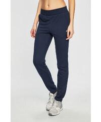 Tmavě modré dámské kalhoty  6f1b187cd1