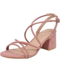 NEW LOOK Tělové sandále na nízkém podpatku - Glami.cz 1540f54fa0