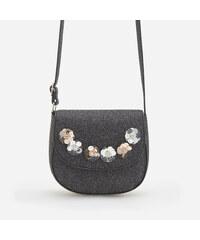 Reserved - Csillámszálas táska - Fekete 8f909cf454