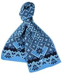 Dětská pletená šála merino KAMA SB07 Tyrkysová 5cd750e0ff
