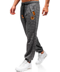 Grafitové pánské jogger tepláky Bolf Q3471 9aa26d3e2a6