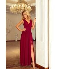 bb7c2dbc75 Grace Shop Estélyi ruha, hosszú, elegáns, bordó, 166-3